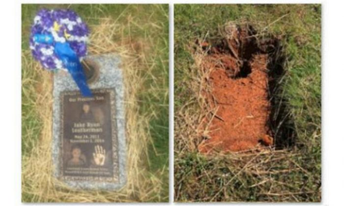 Manufacturer Removes 5-Year-Old Boy's Grave Marker Over Payment Dispute