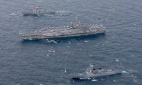 USS Ronald Reagan Deployed in Military Drills Near North Korea