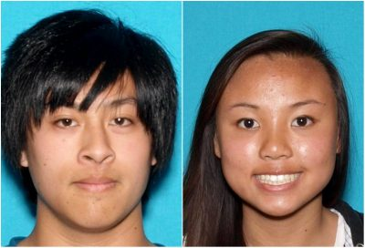 Joseph Orbeso, 22, and Rachel Nguyen,20, who went missing in Joshua Tree National Park, Calif., on July 27, 2017. (State of California Department of Justice)
