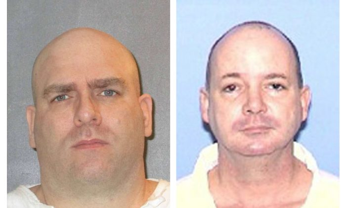 (L): Larry Swearingen; (R): Anthony Shore. (Texas Department of Criminal Justice)
