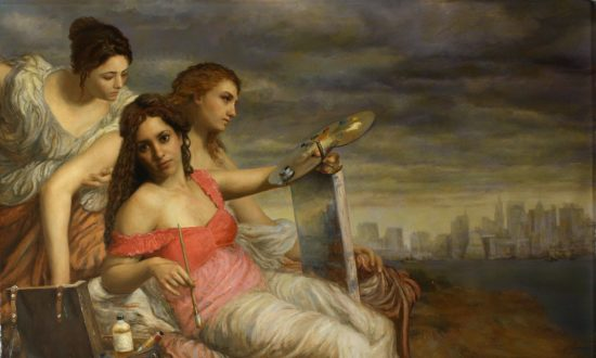Artist Cesar Santos Relies on Old Masters' Techniques to Reach a Higher Level of Expression