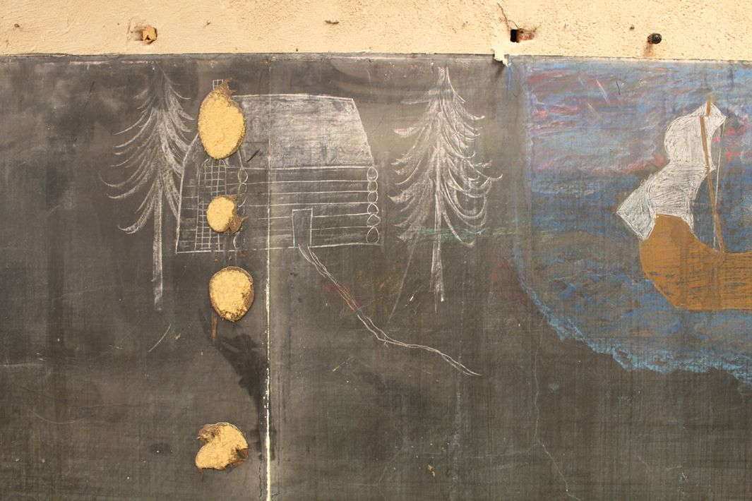 Chalkboards Made in 1917 Found Oklahoma City School, Leave Workers Flabbergasted