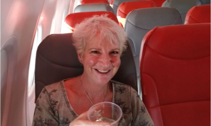 Author books flight to Greece; ends up being only passenger""