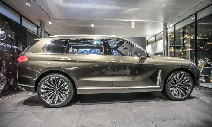 X7 exterior. (BMW Canada)