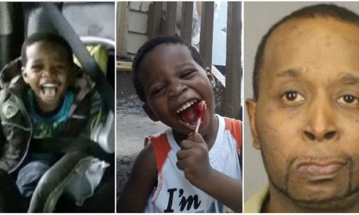 Zayden Phillips in two family photos on the left and his father Charles Phillips. (Photos courtesy family and Monroe County Sheriff's Office)