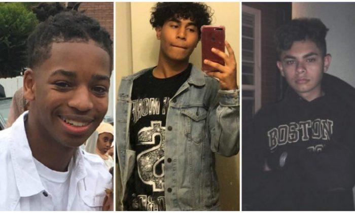 Naseer Alwakeel, Brandon Martinez, and Nelson Umanzor. (Photos courtesy of school, friend, family)