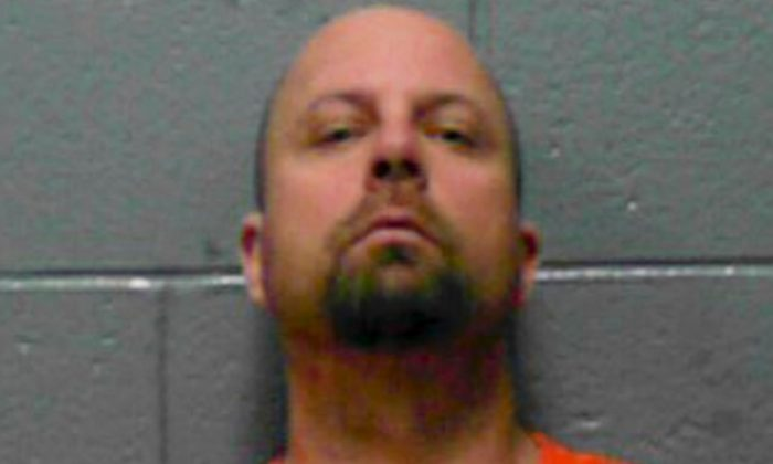 Todd Boyes appears in an undated mugshot. (West Virginia Dept. of Millitary affairs and Public Safety)