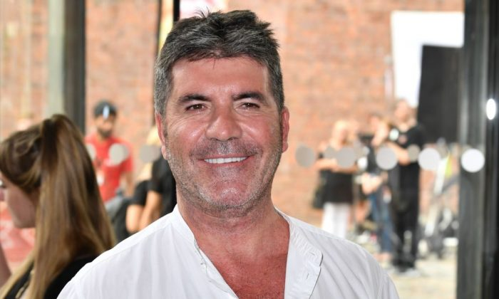 Simon Cowell attends the first day of auditions for 'X Factor' at The Titanic Hotel on June 20, 2017 in Liverpool, England.  (Photo by Anthony Devlin/Getty Images)