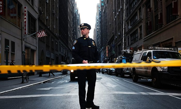 """New York police have made no arrests following the recent rash of """"knockout game""""-style attacks. (Spencer Platt/Getty Images)"""