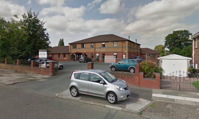 Moss View Nursing Home in Liverpool, England, where 98-year-old Ada Keatiing moved in with her 80-year-old son Tom Keating to care for him. (Screenshot via Google Maps)