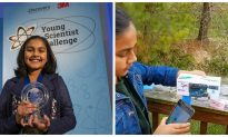 11-year old girl creates a device to test for water contamination—wins America's Top Young Scientist Challenge