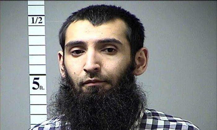 Saipov Sayfullo Habibullaevic in a Missouri arrest photo. (St. Charles, Missouri, Corrections Department)