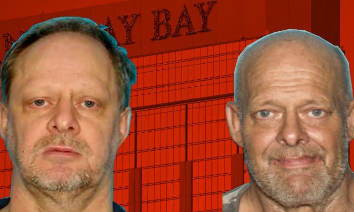 Stephen Paddock (L) and Bruce Paddock (R). (LVMPD/FBI)