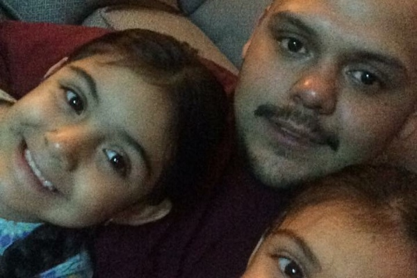 One of the victims of the Walmart shooting, Victor Vasquez, a young father. (Screenshot via GoFundme)