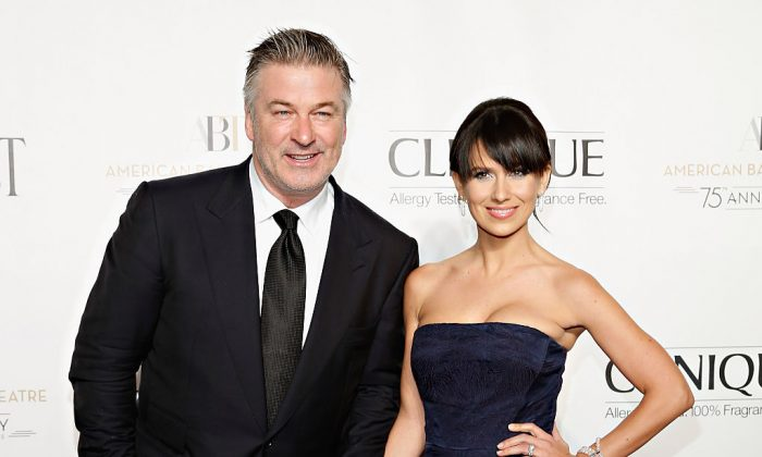 Actor Alec Baldwin and wife TV personality Hilaria Baldwin attend the American Ballet Theatre 2014 Opening Night Fall Gala at David H. Koch Theater at Lincoln Center on October 22, 2014 in New York City. (Cindy Ord/Getty Images)