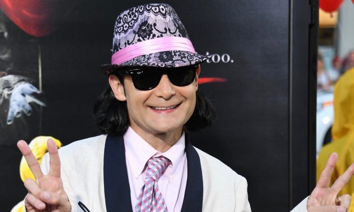 Actor Corey Feldman at the TCL Chinese Theatre in Hollywood, Calif. (Robyn Beck/AFP/Getty Images)