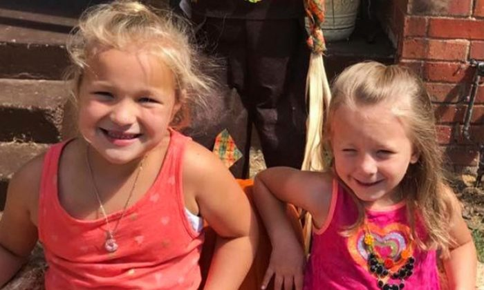 KayLee Danielle and Kenlie Henderson, ages 7 and 5, respectively, were shot in the head by their mother, Sarah Henderson, on Nov. 2. (GoFundMe)