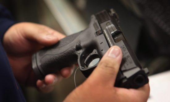 A gun in a file photo. (Scott Olson/Getty Images)