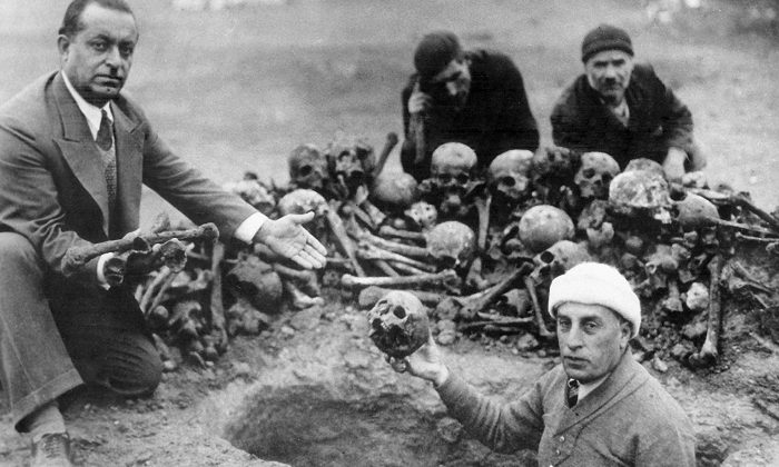 Proof of the Armenian Genocide of 1915.(Armenian Genocide Museum Institute)