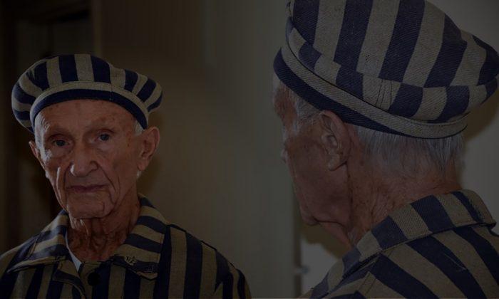 Ed Mosberg, Holocaust survivor. (Gigatel CYF)