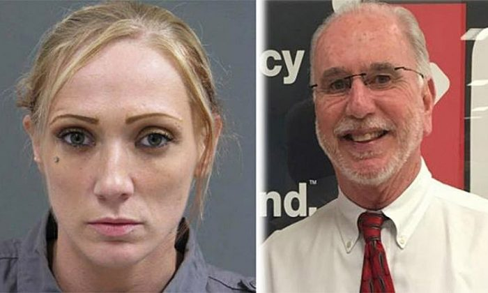 Jennifer Lynn Morrissey, 33, allegedly killed Michael McNew, 64, after he tried to end their relationship, officials say. (Bucks County District Attorney's Office)