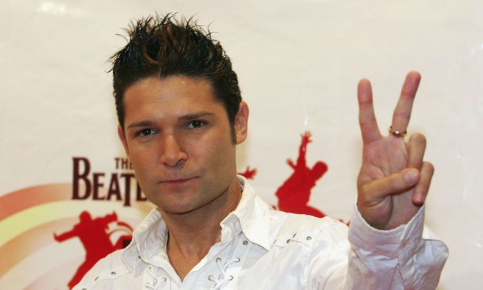 Actor Corey Feldman poses in Las Vegas in this file photo.  (Photo by Ethan Miller/Getty Images)