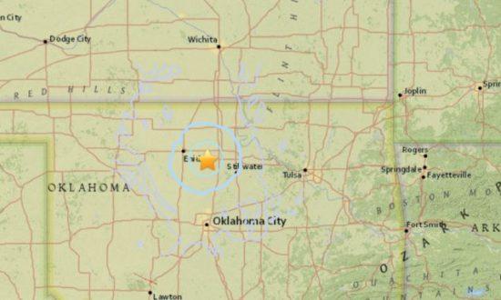 3.7-Magnitude Earthquake Hits Northern Oklahoma: USGS
