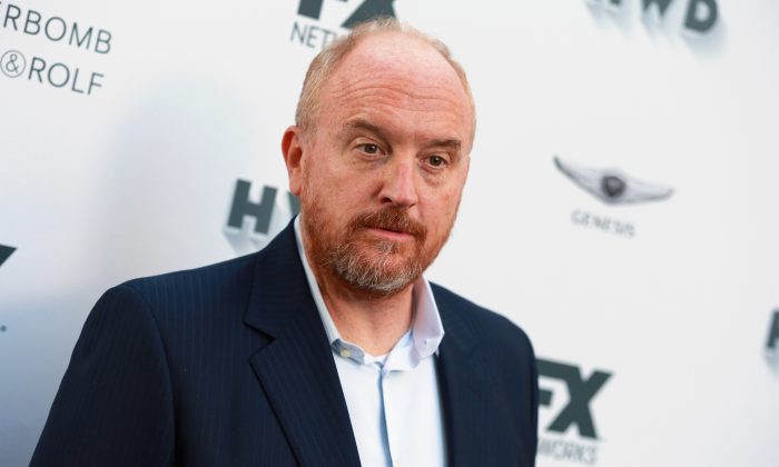 Louis C.K. attends FX and Vanity Fair Emmy Celebration at Craft in Century City, California,  on Sept. 16, 2017. (Rich Fury/Getty Images)