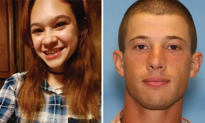 Annieka Vaughan (L) and Zachary Petersen. (Washington County Sheriff's Office)