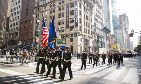 In Pictures: Veterans Day Parade in Manhattan