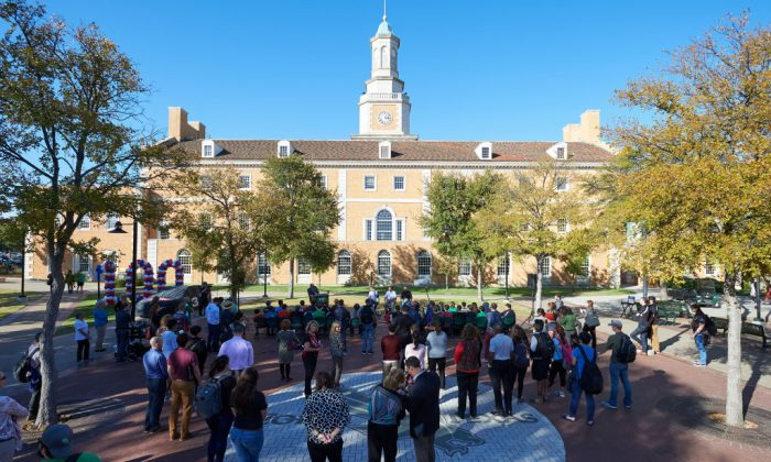 University of North Texas in Denton, Texas, on Nov. 1, 2017. (Cooper Neill/Getty Images)