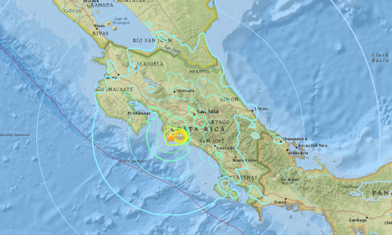 Quake in Costa Rica, No Reports of Major Damage