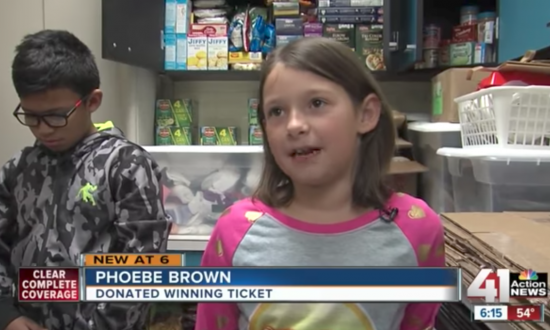 7-year-old girl finds winning scratch-off — donates it towards a fantastic cause.