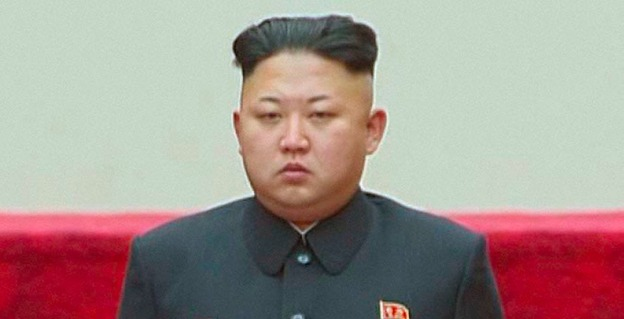 North Korea communist dictator Kim Jong Un in an undated photo released by North Korean state media.