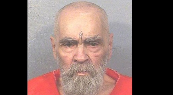 Charles Manson prison photo taken on Aug. 14, 2017 (California Department of Corrections and Rehabilitation)