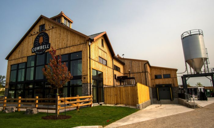 The Cowbell Brewing Co. destination craft brewery in Blyth, Ontario. (Cowbell Brewing Co.)