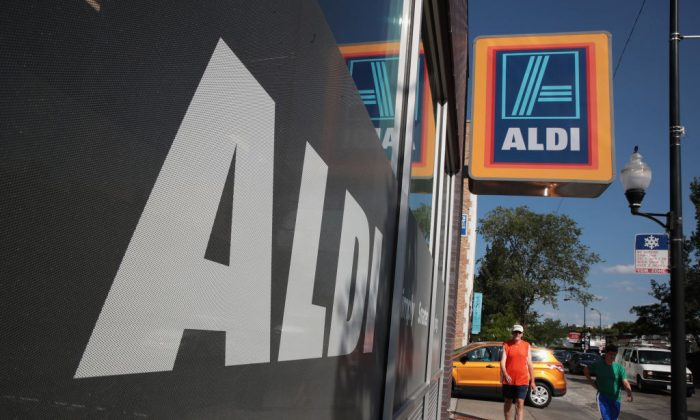 An Aldi grocery store in this file photo.(Scott Olson/Getty Images)