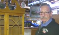 Man bought an old desk at an auction—what he found inside completely changed a family's life