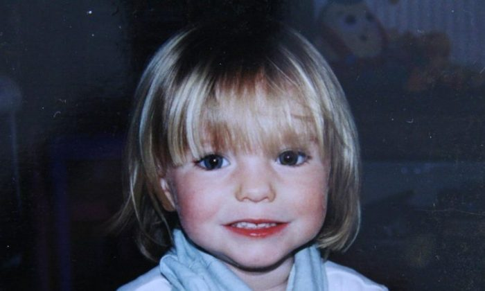 Photo of missing Madeleine McCann released on Sept.16, 2007. (Handout/Getty Images)