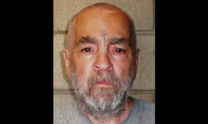 Charles Manson in March 2009. (California Department of Corrections and Rehabilitation via Getty Images)