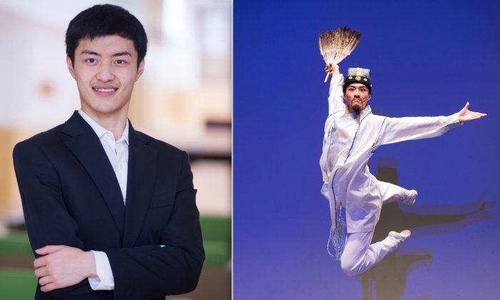 Albert Yang, lead dancer for Shen Yun Performing Arts. (Courtesy of Shen Yun Performing Arts)