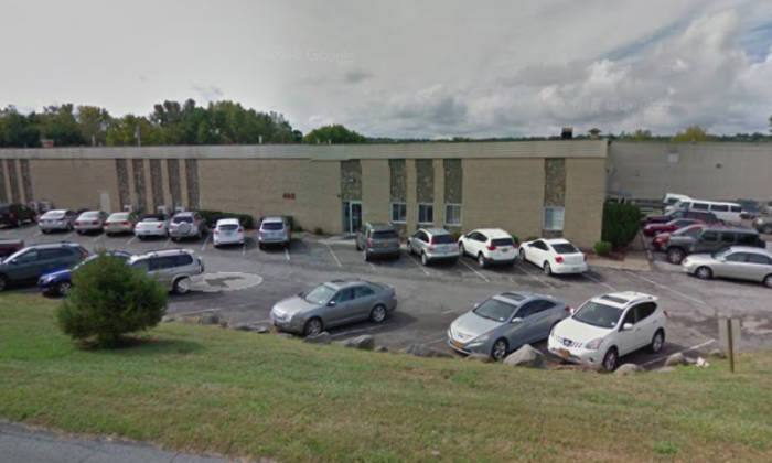Verla International Warehouse in New Windsor, New York.  (Screenshot via Google Maps)