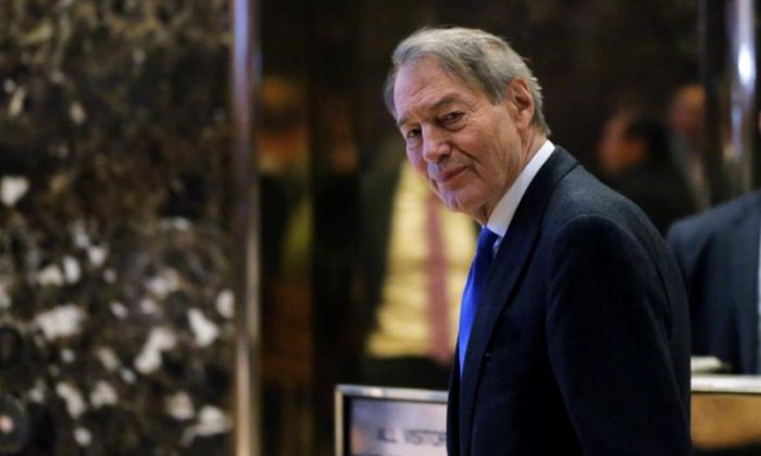 CBS news host Charlie Rose (Reuters/Lucas Jackson)