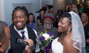 Dad is given weeks to live, so daughter moves her wedding—to the hospital!