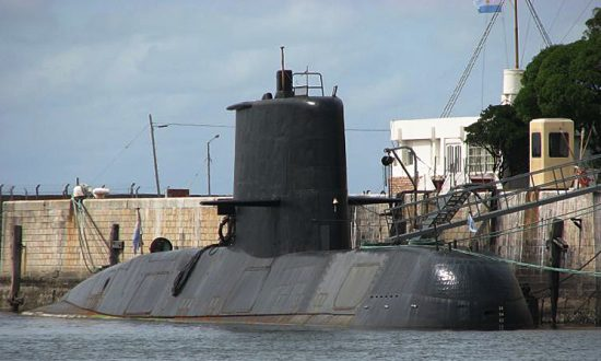Heat Signature Found in Search for Missing Argentine Submarine as Oxygen Runs Out