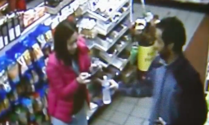 Woman grateful store clerk sensed sensed something was wrong and followed his instincts