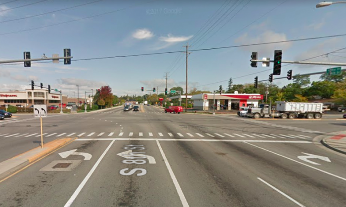 Intersection of Route 72 and Route 31 where the incident occurred. (Screenshot via Google Maps)