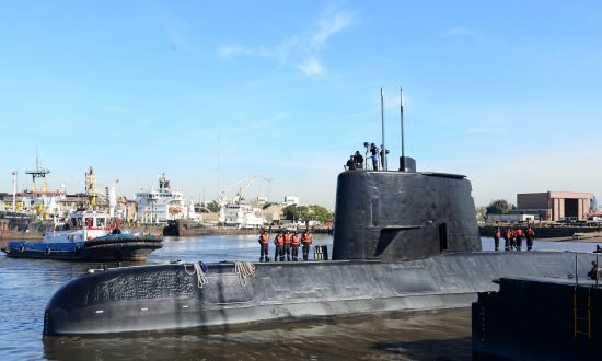 Missing Argentine Submarine Reported Fire in Last Message