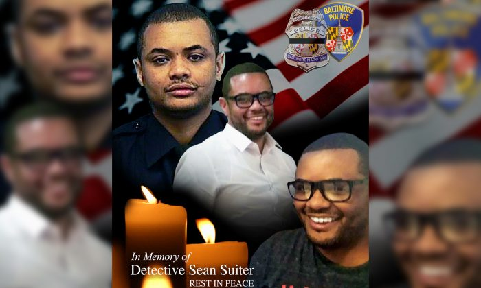 Baltimore Police Department Detective Sean Suiter was killed with his own gun while investigating a suspicious person. (Baltimore Police Department)