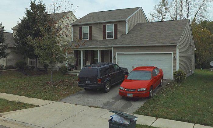 A house on Hiddenspring Drive in Columbus, Ohio.(Screenshot/Bing Maps)
